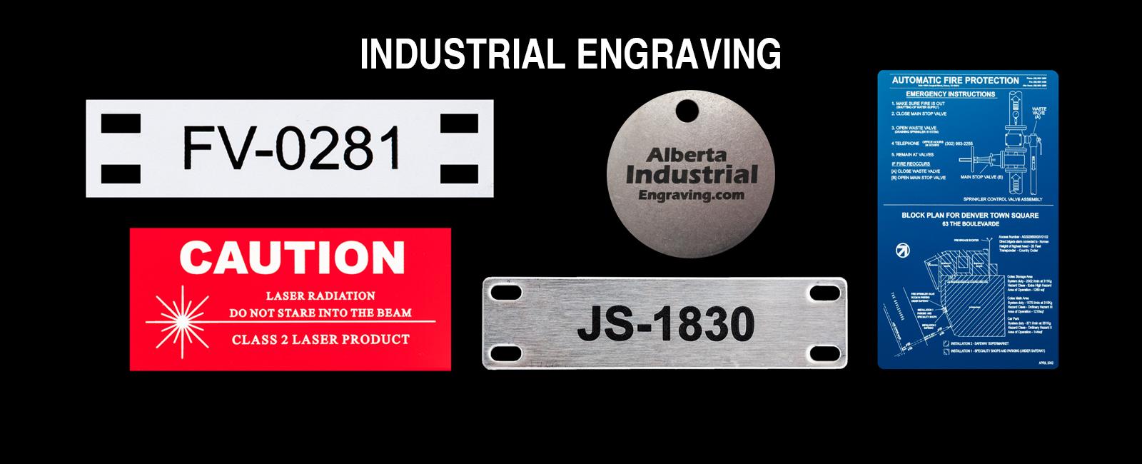 Industrial Engraving | Calgary