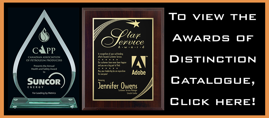 Awards of Distinction - Dimages Engraving