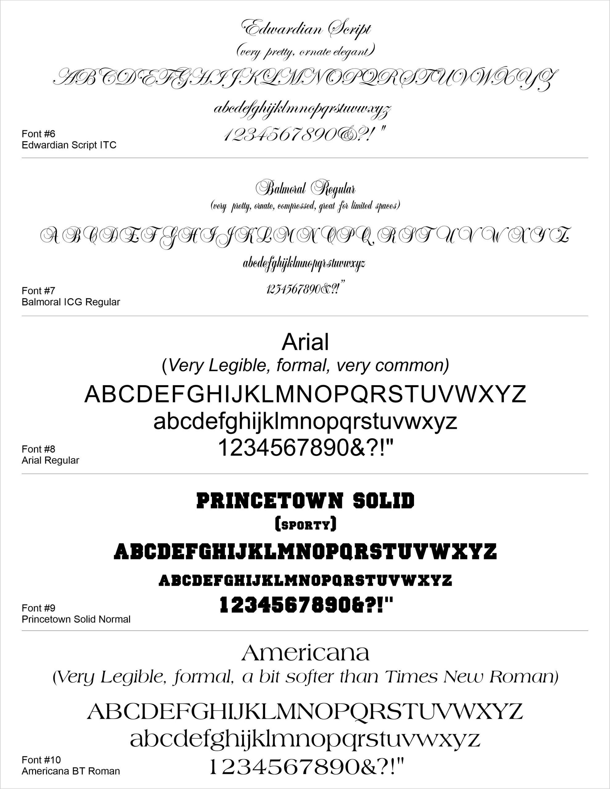 Download Font Ideas as a PDF